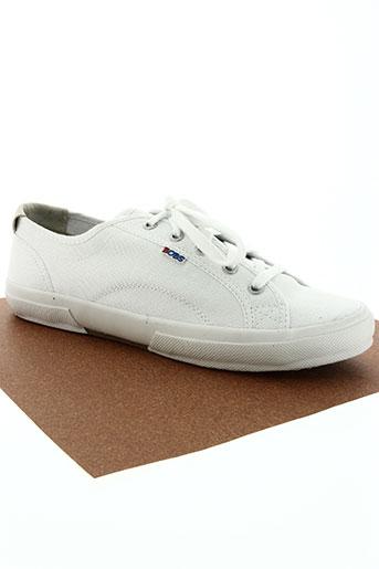 skechers chaussures homme de couleur blanc