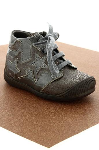 little mary chaussures fille de couleur marron