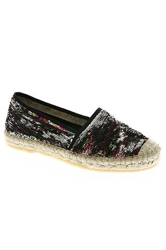 emma chaussures femme de couleur gris