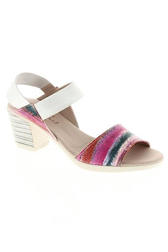jose saenz chaussures femme de couleur rose