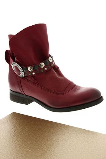 see you jane chaussures femme de couleur rouge
