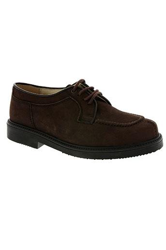 paul et nany chaussures garçon de couleur marron