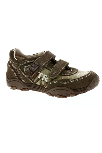 naturino chaussures garçon de couleur marron