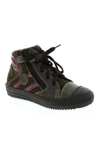 bikey chaussures garçon de couleur vert