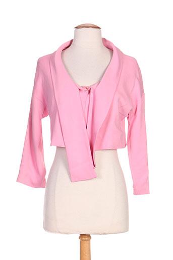 cristina effe vestes femme de couleur rose
