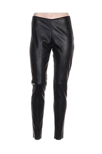 devotion pantalons femme de couleur noir