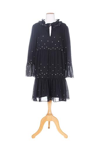 leslie robes femme de couleur noir