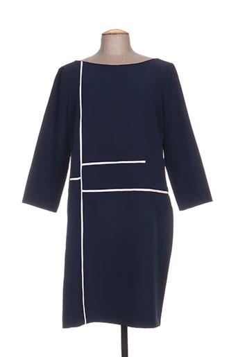 edas robes femme de couleur bleu