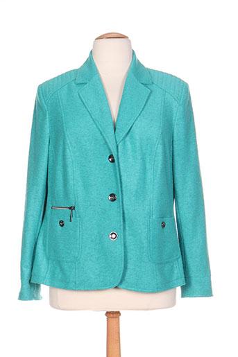 rabe vestes femme de couleur vert