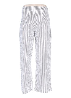 Pantalon casual blanc BLACK LABEL pour femme