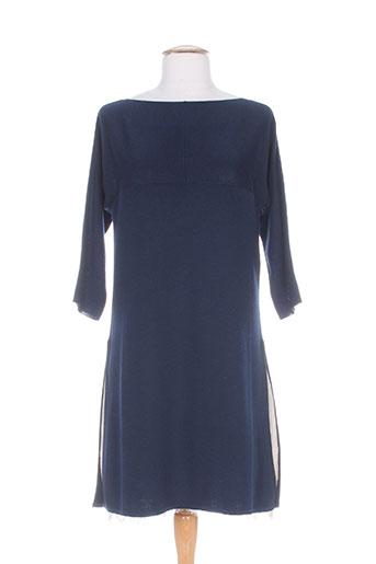 twin set robes femme de couleur bleu