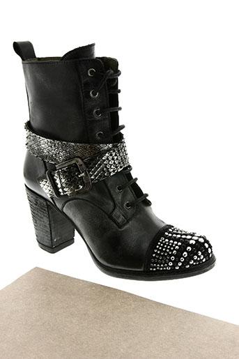 life chaussures femme de couleur noir