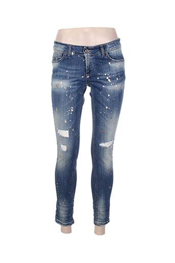 Jeans skinny bleu BSB pour femme
