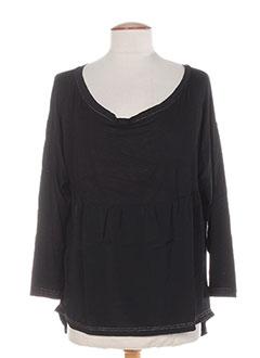 T-shirt manches longues noir COLEEN BOW pour femme