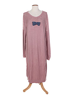 Robe pull rose COLEEN BOW pour femme