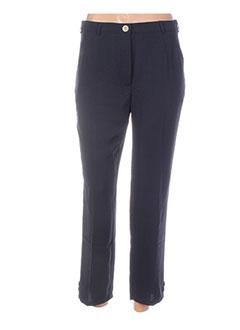Pantalon 7/8 bleu COLEEN BOW pour femme