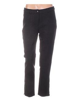 Pantalon 7/8 noir COLEEN BOW pour femme