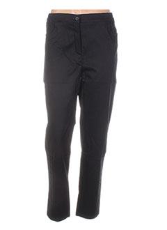 Pantalon casual noir COLEEN BOW pour femme