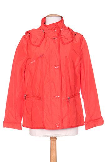 weinberg manteaux femme de couleur rouge
