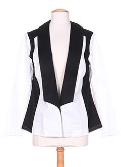 Veste casual noir COLEEN BOW pour femme