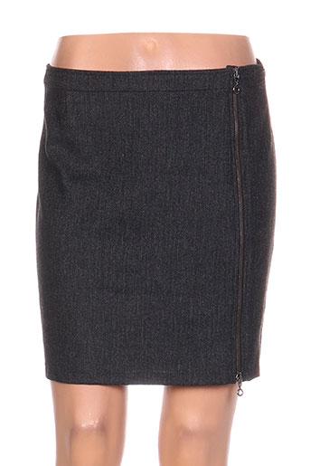 Jupe courte gris COLEEN BOW pour femme