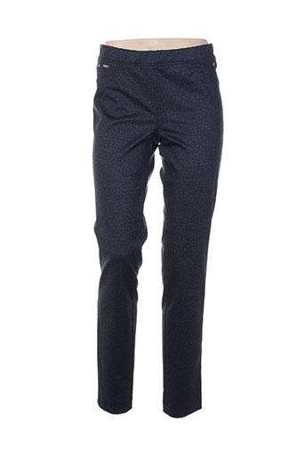 divas pantalons femme de couleur bleu