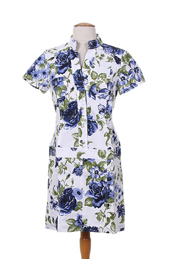 mybo robes femme de couleur bleu