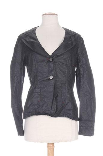 mybo vestes femme de couleur noir