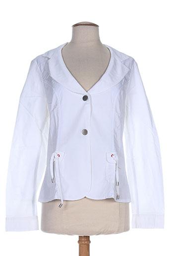 Veste casual blanc MYBO pour femme