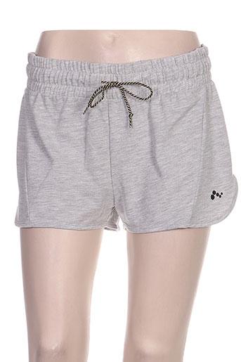 only play shorts / bermudas femme de couleur gris
