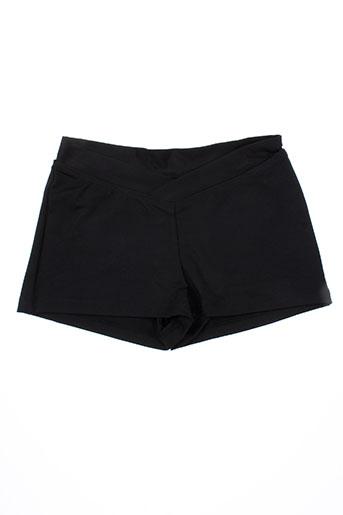 bloch shorts / bermudas fille de couleur noir