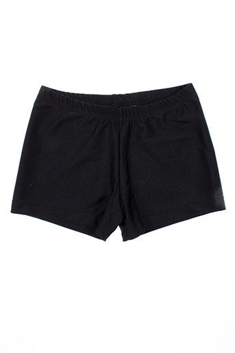 vicard shorts / bermudas fille de couleur noir