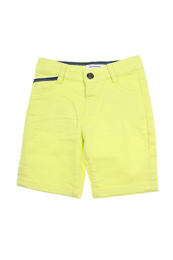 3 pommes shorts / bermudas garçon de couleur vert