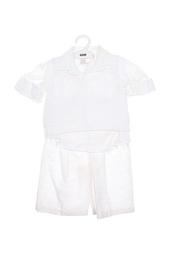 Top/pantalon blanc BUFI pour garçon