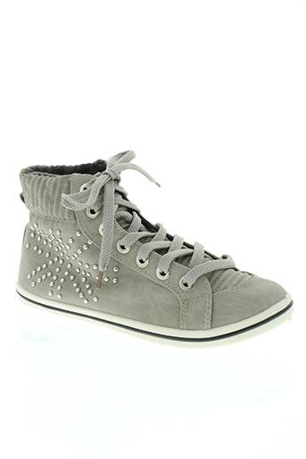 libra pop chaussures femme de couleur gris