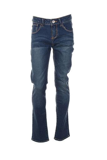 guess jeans fille de couleur bleu