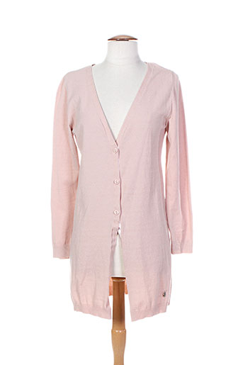 top secret gilets femme de couleur rose