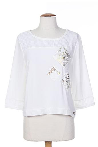 les filles de neaux chemises femme de couleur blanc