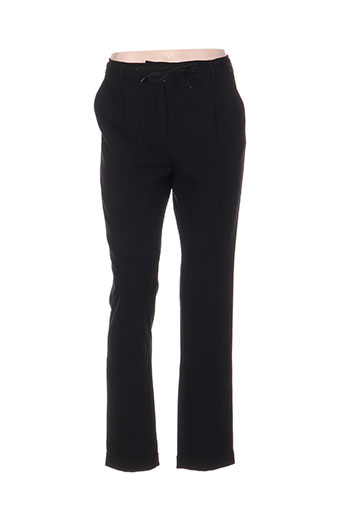 top secret pantalons femme de couleur noir