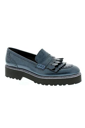 jhay chaussures femme de couleur bleu