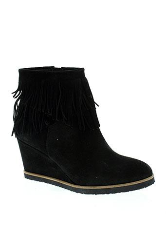 pedro miralles chaussures femme de couleur noir