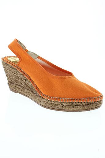 aedo chaussures femme de couleur orange