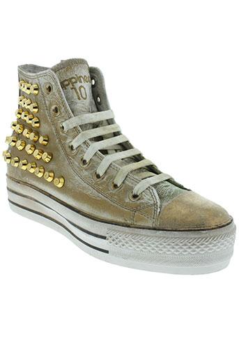 happiness shoes chaussures femme de couleur jaune