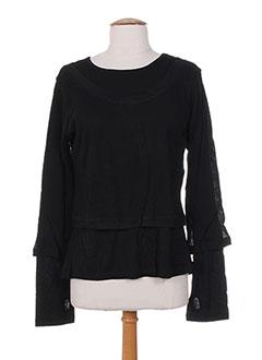 Produit-T-shirts / Tops-Femme-NID D'ABEILLE