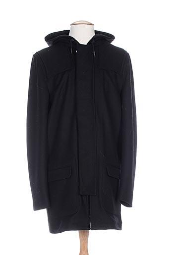 marciano manteaux homme de couleur noir