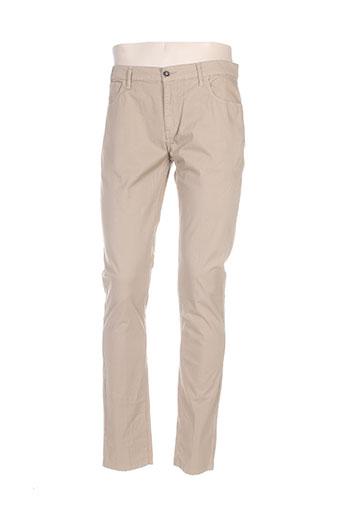 marciano pantalons homme de couleur beige