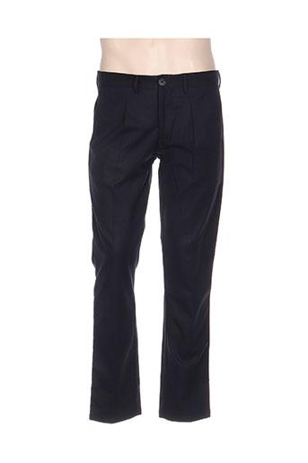 hamaki-ho pantalons homme de couleur bleu