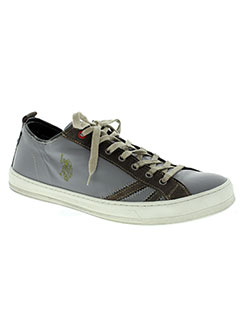 Chaussures U.S. Polo Assn. grises Fashion homme smCbYLF