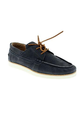 kost chaussures homme de couleur bleu