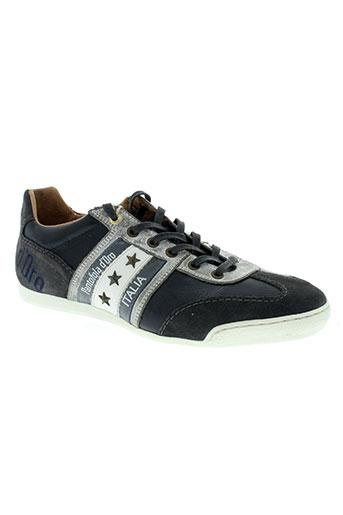 pantofola d'oro chaussures homme de couleur gris